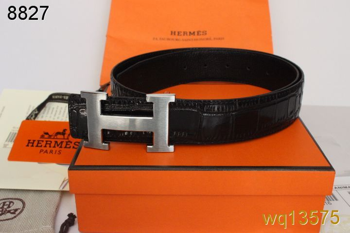 with Silver H Buckle Hermes Mens Black Belt Store