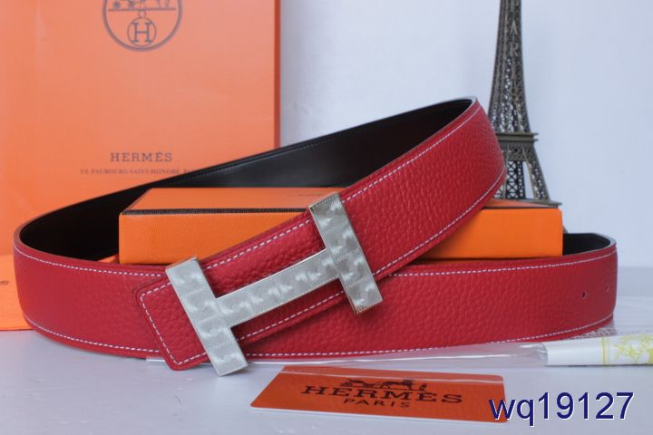 Rose Hermes Belt Mens with Silver H Buckle On sale