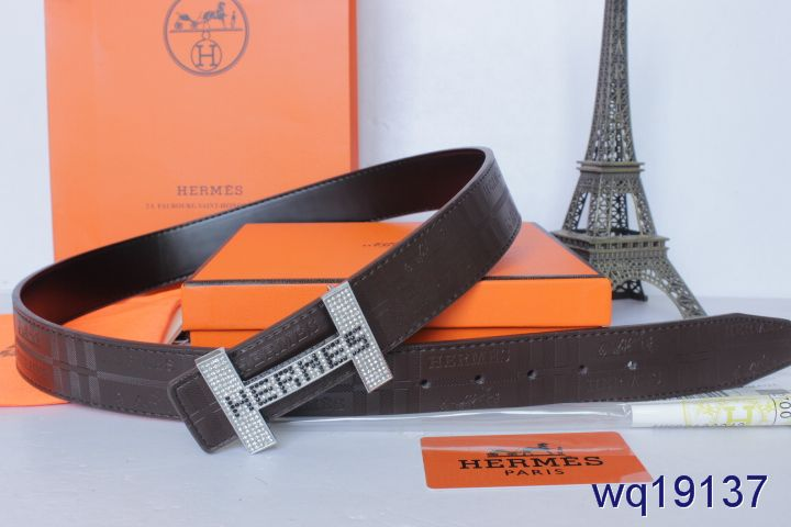 Belt with Silver H Buckle Mens Hermes Black UK