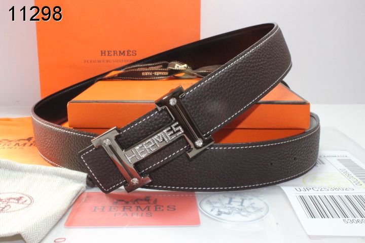 Find Chocolate Belt with Black H Buckle Mens Hermes
