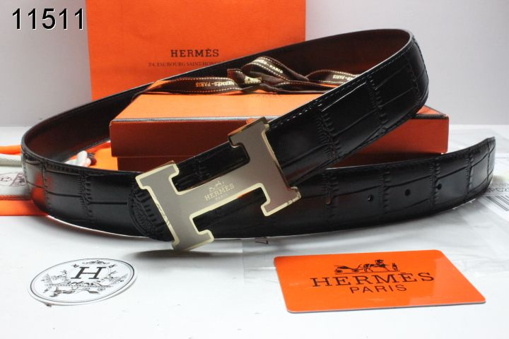 Buckle Belt Hermes Mens H Black Grey with Sale