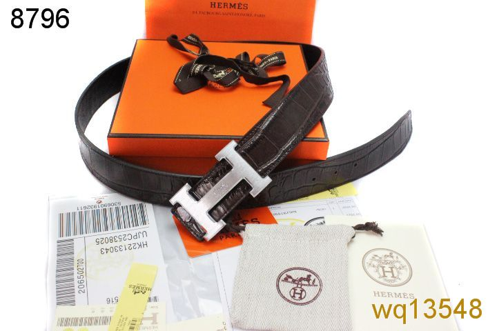 with Silver H Buckle Black Mens Belt Hermes Online