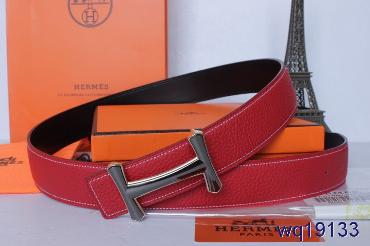 Rose Hermes Mens with Black H Buckle Belt Inexpensive