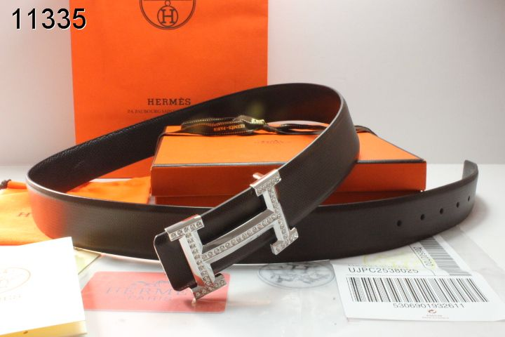 Shop Belt Black Mens Hermes with Silver H Buckle Clearance