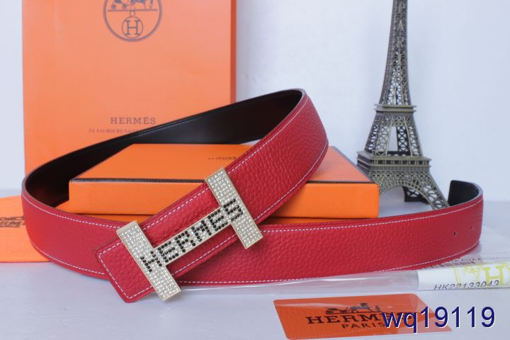 with Golden H Buckle Belt Rose Mens Hermes On sale