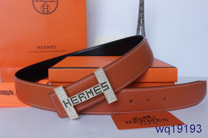 Latest Hermes with Silver H Buckle Orange Belt Mens Affordable