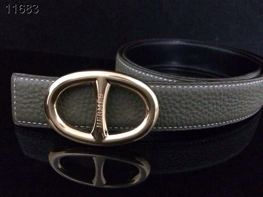 with Golden H Buckle Womens Hermes Navy Belt For sale