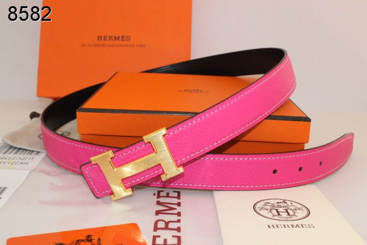 with Golden H Buckle Belt Rose Womens Hermes Clearance Sale