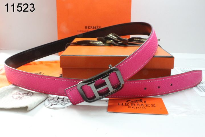Rose Hermes Belt Womens with Black H Buckle Outlet