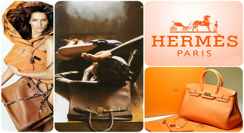 H35LSOG Hermes Birkin 35CM clemence leather in Orange with Gold