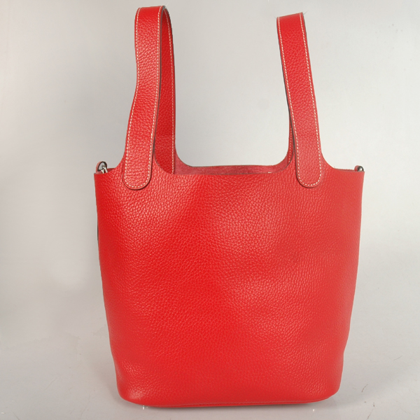 1048F Hermes picotan MM Bag clemence leather in Flame