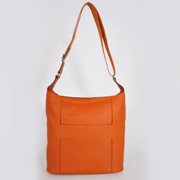 1033 Hermes Good News Bag clemence leather in Orange