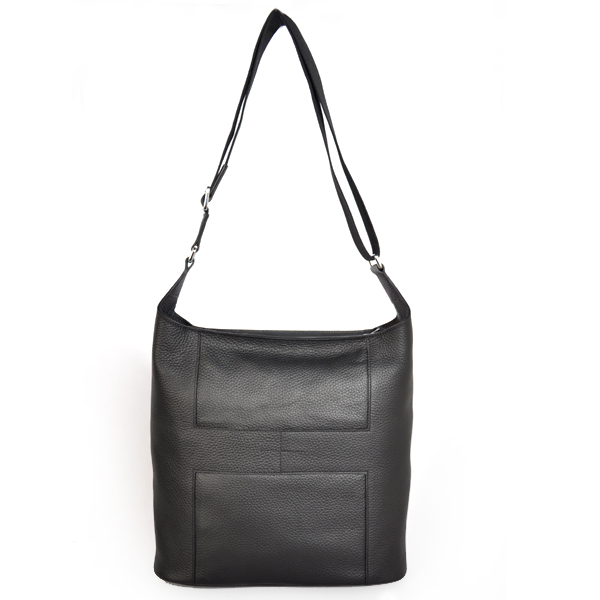 1033 Hermes Good News Bag clemence leather in Black