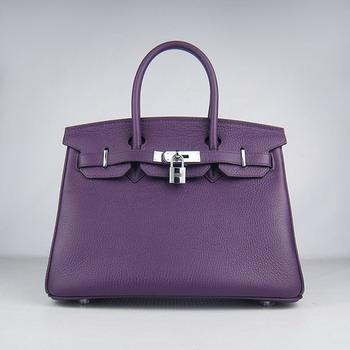 HBK30PS0017 Birkin 30CM Purple (silver)
