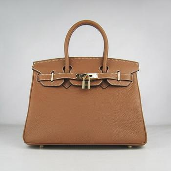 HBK30LCG012 Birkin 30CM Light Coffee (gold)