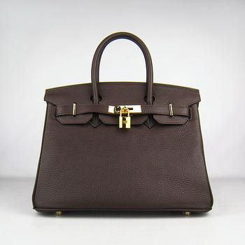 HBK30DCG010 Birkin 30CM Dark Coffee (gold)