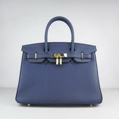HBK30BG0008 Birkin 30CM Dark Blue (gold)