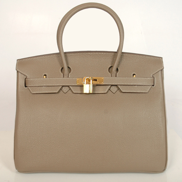 H35GDBJSG Hermes Birkin togo leather 35CM Dark Grey togo(Gold)
