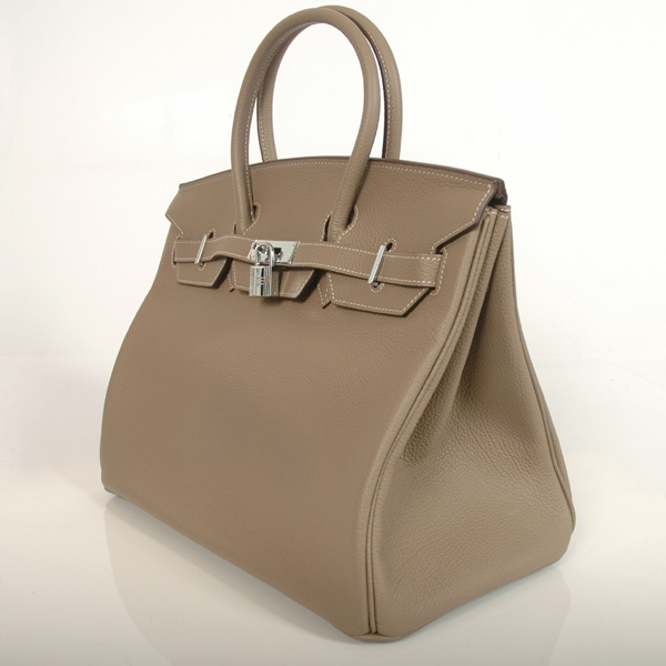 H35DGBJSS Hermes Birkin togo leather 35CM Dark Grey togo(Silver)