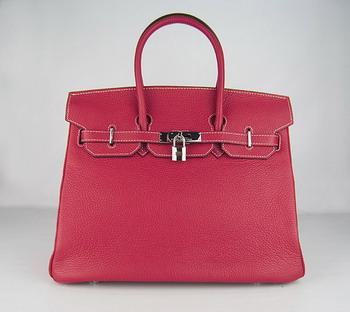 HBK35ORS020 Hermes 35CM Red (silver)