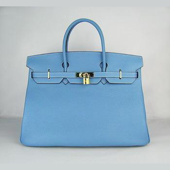 HBK40LBG006 Hermes 40CM Light Blue (gold)