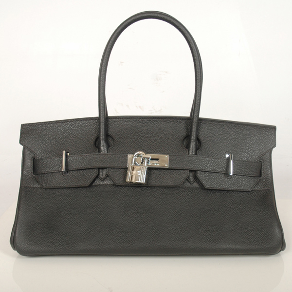 H42BJBS Hermes Birkin togo leather 42CM togo in Black with Silver hardware