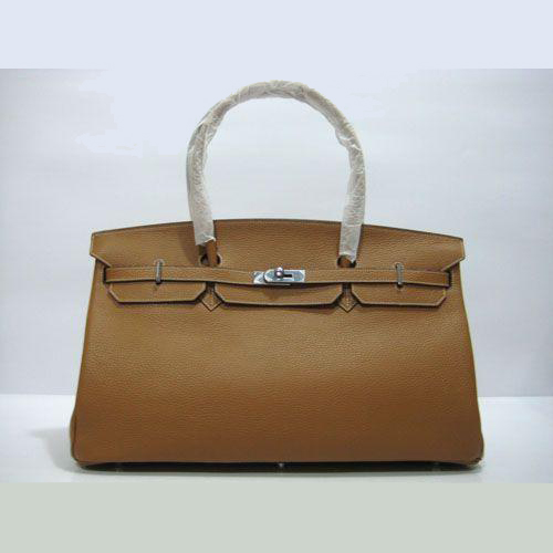 HBK450LC003 Hermes Birkin 45CM Light Coffee