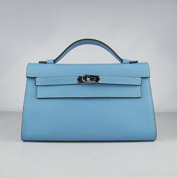 HKL220LBS023 HERMES 22CM H008 Light Blue(Silver)