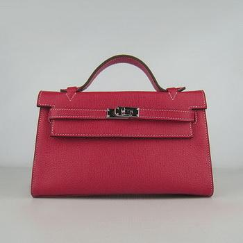 HKL22CNSR017 Hermes Kelly 22CM Cattle Neck Stripe Red