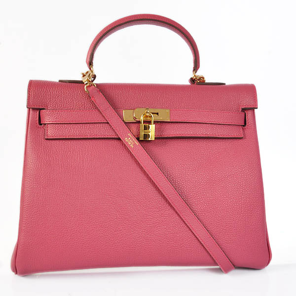 HKL35P Hermes kelly 35CM Pink togo leather(Gold)