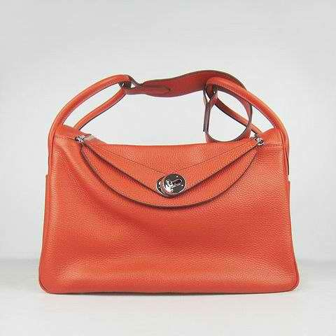 HLN34CM00019 Hermes Handbag Lindy Hermes Orange
