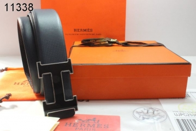 Belt Black Hermes Mens with Black H Buckle On sale