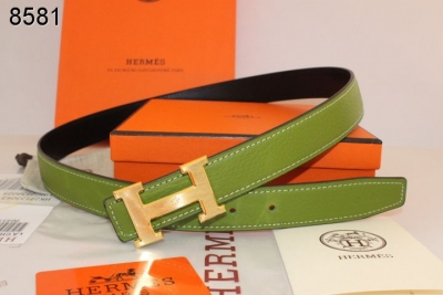 Belt Womens Hermes with Golden H Buckle Green UK
