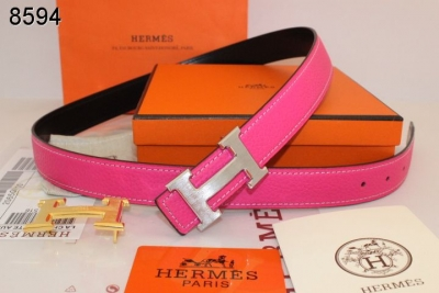 Belt Womens with Silver H Buckle Rose Hermes Sale