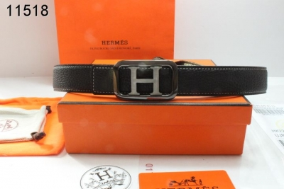 Specializing Belt Womens Hermes with Gray H Buckle Black