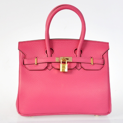 H25LSPG Hermes Birkin 25CM clemence leather in Peach with Gold hardware