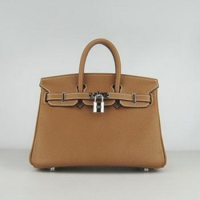 HBK25CS002 Birkin 25CM Light Coffee (Silver)