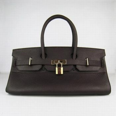 HBK42DCG003 Hermes 42CM Dark Coffee(gold)