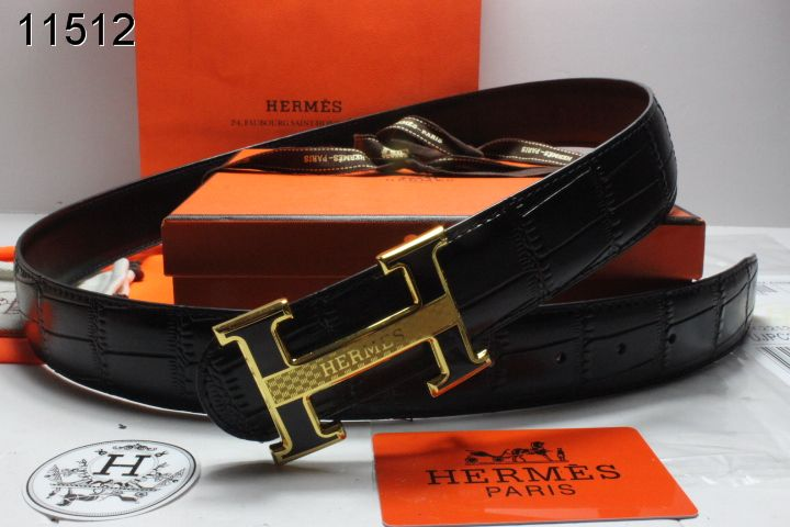 Hermes Belt Black with Black H Buckle Mens Store