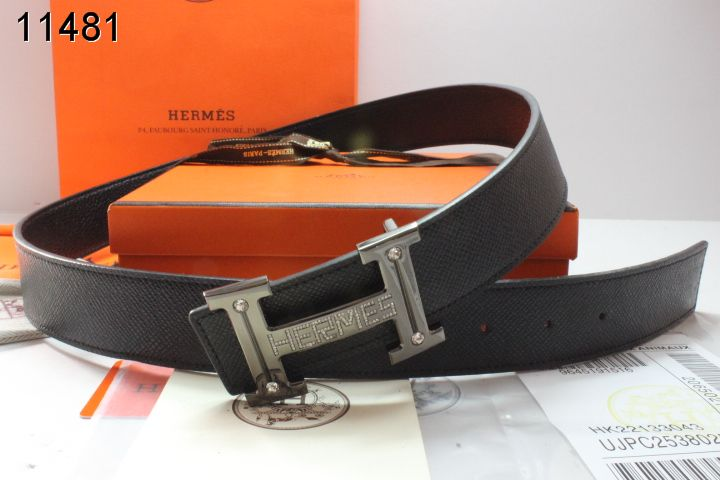 Belt Black Mens Buckle with Hermes Grey H Clearance Sale
