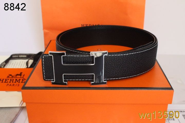 Find Hermes Black Mens with Black H Buckle Belt