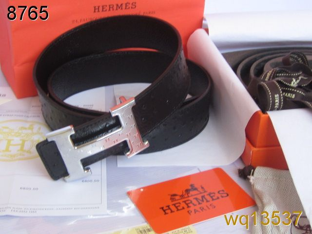 Hermes with Silver H Buckle Black Belt Mens Online