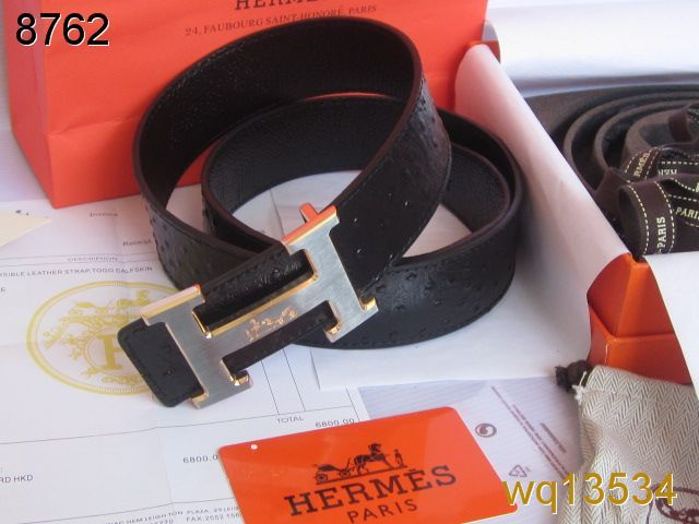 with Silver H Buckle Belt Mens Black Hermes Wholesale