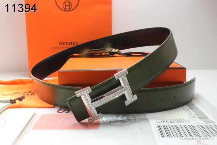 Latest Hermes with Silver H Buckle Belt Mens Black Affordable