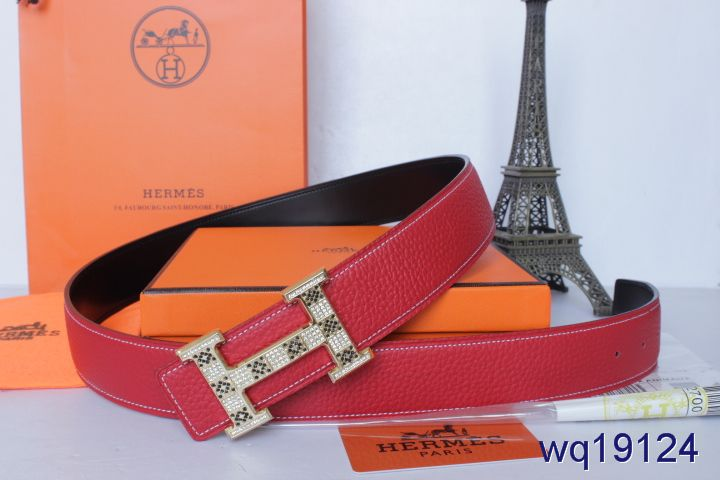 Mens Belt with Golden H Buckle Hermes Rose Outlet