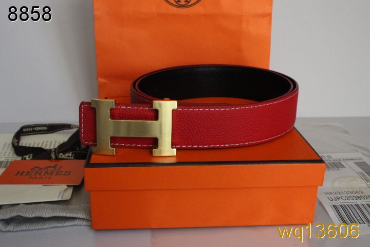 Rose Belt Hermes Mens with Golden H Buckle Deals