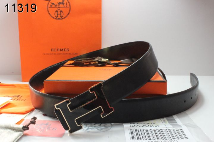 Discount Mens with Black H Buckle Belt Hermes Black