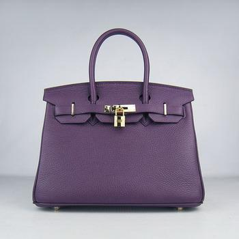 HBK30PG0017 Birkin 30CM Purple (gold)