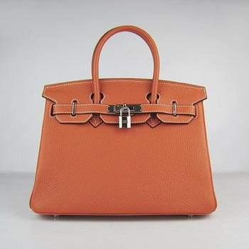 HBK30OS0014 Birkin 30CM Orange (silver)