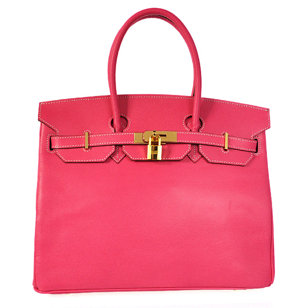 H35PSPG Hermes Birkin 35CM Palm stripes leather in Peach with Gold hardware